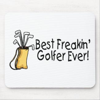 El mejor golfista de Freakin siempre (2) Tapetes De Ratones