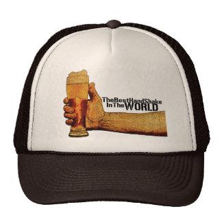 El mejor gorra de la sacudida de la mano