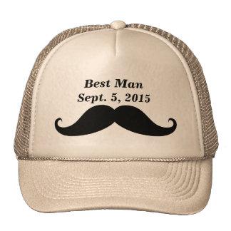El mejor gorra de los camioneros del bigote del