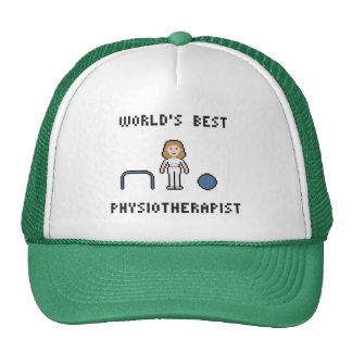 El mejor gorra del fisioterapeuta de 8 mundos del