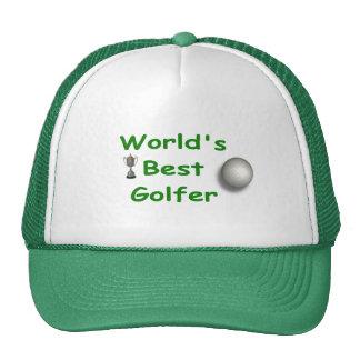 El mejor gorra del golfista del mundo