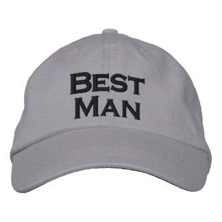 El mejor gorra del hombre gorro bordado