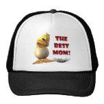 El mejor gorra del pato de la mamá