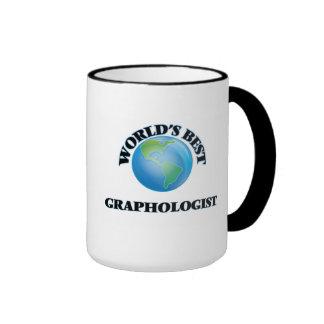El mejor grafólogo del mundo taza a dos colores