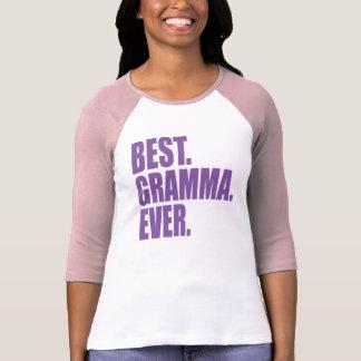 El mejor. Gramma. Nunca. (púrpura) Camisetas