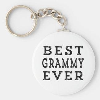 El mejor Grammy nunca Llavero Redondo Tipo Pin