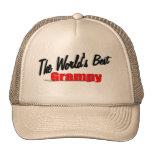 El mejor Grampy del mundo Gorras