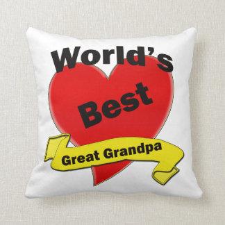 El mejor gran abuelo del mundo almohadas