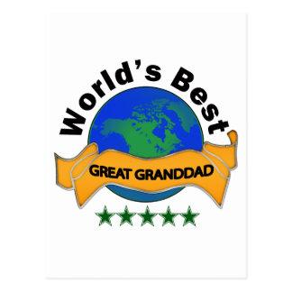 El mejor gran abuelo del mundo postales