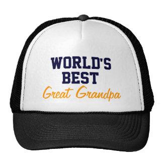 El mejor gran gorra del casquillo del abuelo del