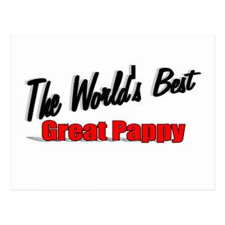 El mejor gran Pappy del mundo Tarjetas Postales