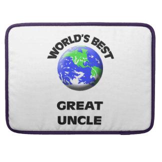 El mejor gran tío del mundo funda para macbook pro