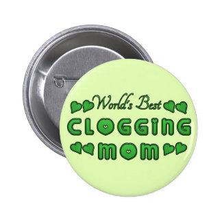 El mejor grande verde de obstrucción de la mamá chapa redonda 5 cm