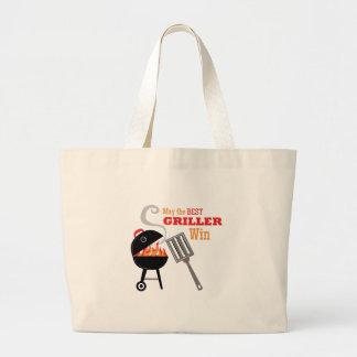 El mejor Griller Bolsa Tela Grande