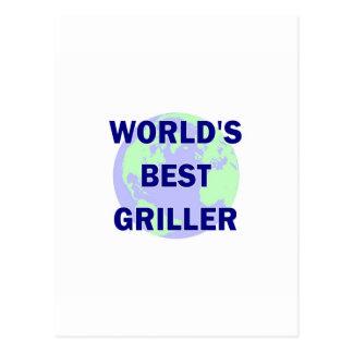 El mejor Griller del mundo Postal