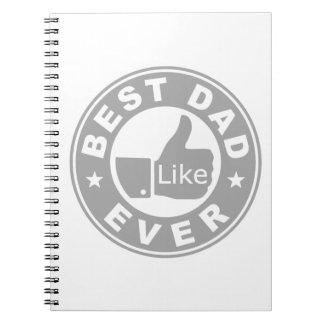El mejor gris del papá nunca - cuadernos