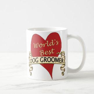 El mejor Groomer del perro del mundo Tazas De Café