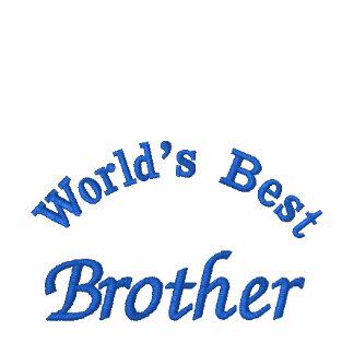 El mejor hermano de World'd, camisa bordada Camiseta Polo