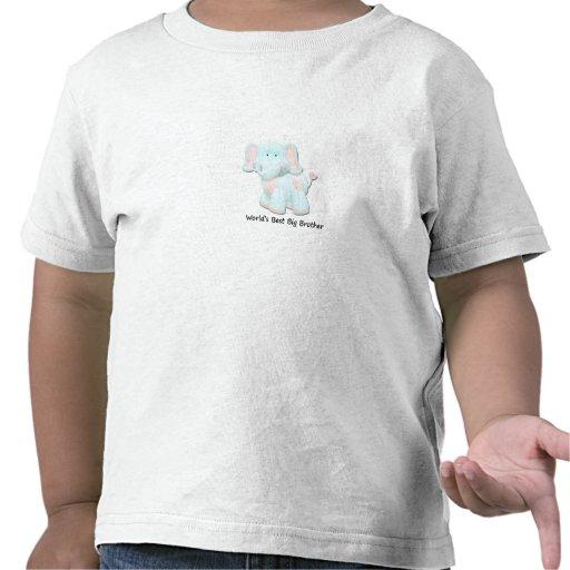 El mejor hermano mayor del mundo camisetas