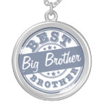El mejor hermano mayor - efecto del sello de goma  colgantes personalizados