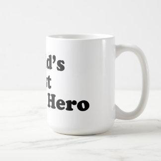 El mejor héroe de la acción del mundo taza de café