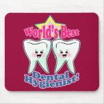 El mejor higienista dental de los mundos tapetes de ratones