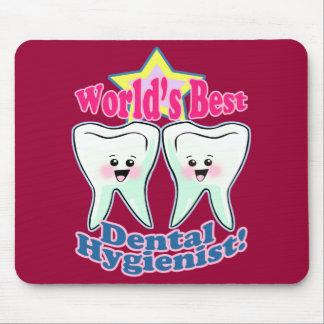 El mejor higienista dental de los mundos mouse pads