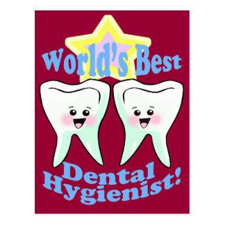 El mejor higienista dental de los mundos postal