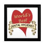 El mejor higienista dental del mundo cajas de joyas