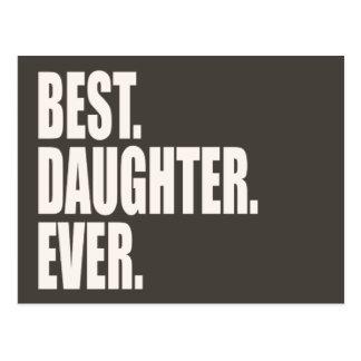El mejor. Hija. Nunca Tarjeta Postal