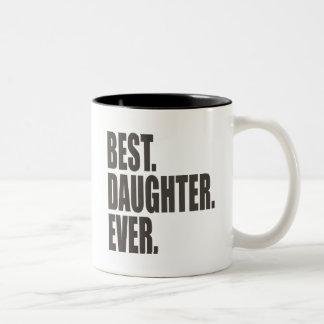 El mejor Hija Nunca Taza De Café