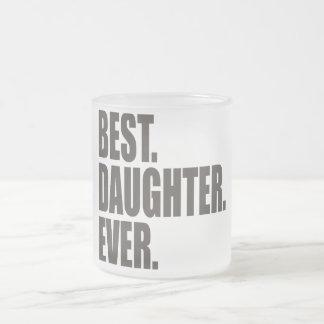 El mejor. Hija. Nunca Taza De Cristal