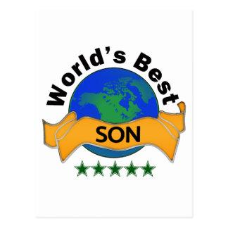 El mejor hijo del mundo postal