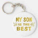 El mejor hijo llavero personalizado