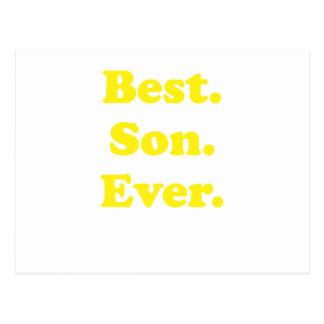 El mejor hijo nunca postal