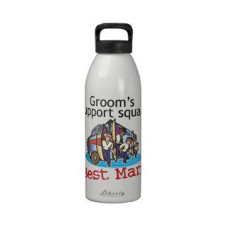 El mejor hombre botellas de beber