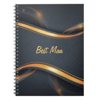 El mejor hombre (b/g) cuadernos