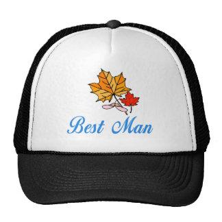 El mejor hombre - caída gorras