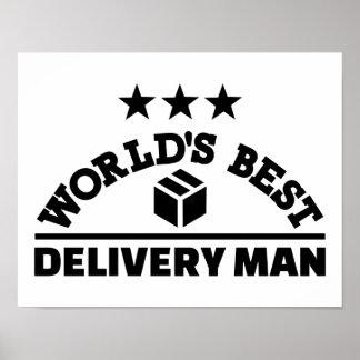 El mejor hombre de la entrega del mundo póster