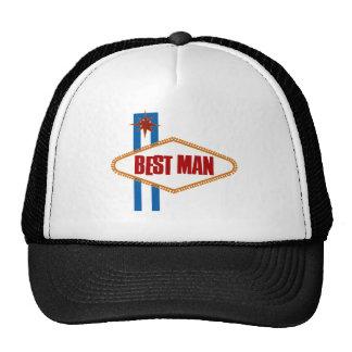 El mejor hombre de Las Vegas Gorro De Camionero