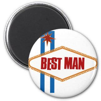 El mejor hombre de Las Vegas Imán Redondo 5 Cm