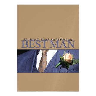 el mejor hombre del mejor amigo le agradece invitaciones magnéticas