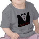 El mejor hombre en Tux Camisetas