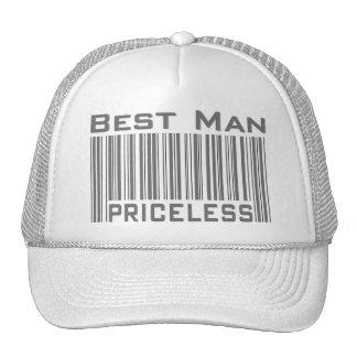El mejor hombre inestimable gorras
