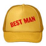 El mejor hombre que casa rojo gorra