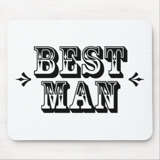 El mejor hombre - viejo oeste tapetes de raton
