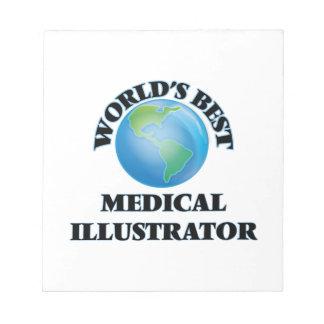 El mejor ilustrador médico del mundo bloc de papel