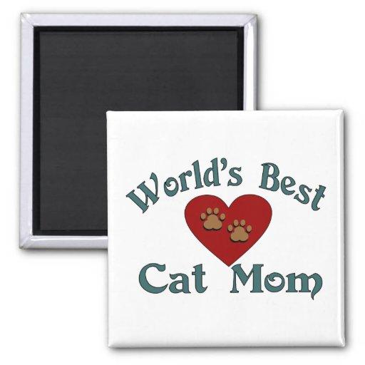 El mejor imán de la mamá del gato del mundo