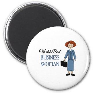 El mejor imán de la mujer de negocios de los mundo