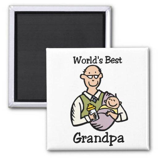 El mejor imán del abuelo del mundo